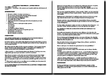 Un extracto del periódico llamado El Pais Semanal: lecturas veraniegas - Javier Cercas