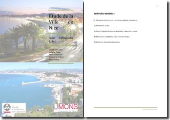 Etude urbanistique de la Ville de Nice