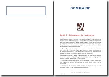 Rapport de stage de fin d'étude effectué au sein du groupe Saint-Agne Immobilier du secteur de Borderouge à Toulouse