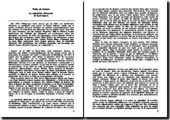 La culpabilité allemande - Karl Jaspers
