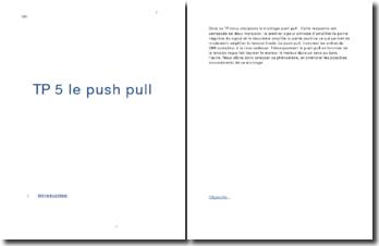 Analyse du montage push pull