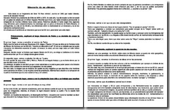 El Plan infinito - Isabel Allende: Itinerario de un chicano