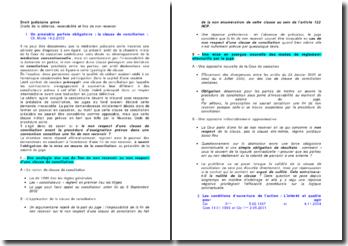 Droit judiciaire privé: droits de la défense, recevabilité et fins de non-recevoir