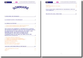 Une étude de l'entreprise Webmiles, filiale du groupe Bertelsmann