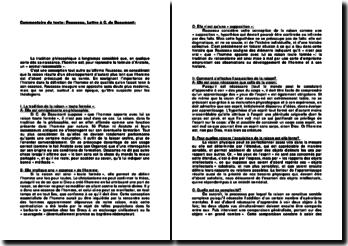 Lettre à C. de Beaumont - Jean-Jacques Rousseau