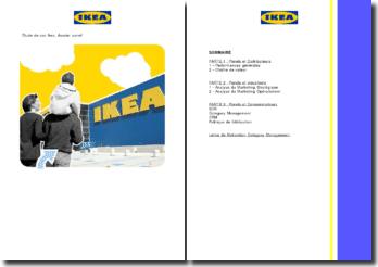 Etude de cas Ikea, dossier panel