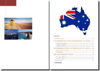 L'Australie: géographique, politique et économie