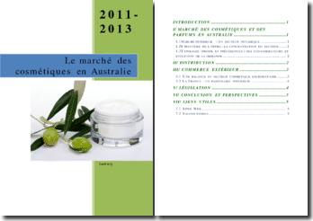 Le marché des cosmétiques en Australie