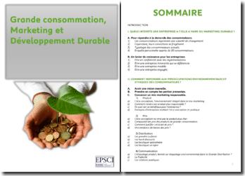 Grande consommation, marketing et développement durable