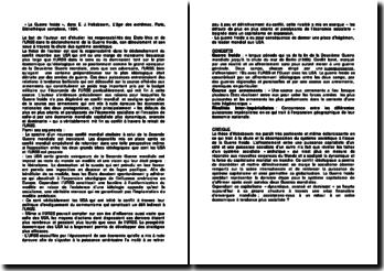La Guerre froide, dans E. J. Hobsbawm, L'âge des extrêmes, Paris, Bibliothèque complexe, 1994