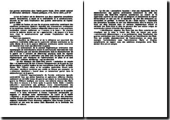 Les guerres américaines dans l'après-guerre froide. Entre intérêt national et affirmation identitaire, Raisons politiques, n 13, février 2004, p.37-57