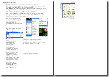Fiche technique sur l'enregistrement d'un fichier