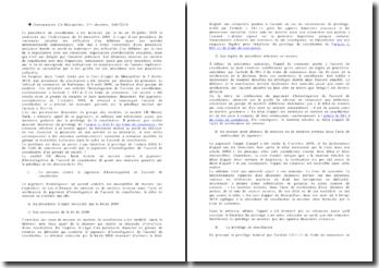 Commentaire d'arrêt de la Deuxième Chambre de la Cour d'appel de Montpellier rendu le 2 février 2010