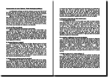 Spinoza, Traité théologico-politique