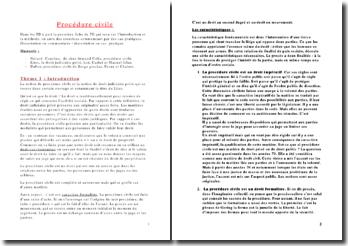 Les modalités du droit des personnes en droit de la procédure civile