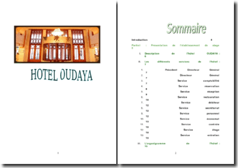 Hotel Oudaya de Marrakech, Maroc