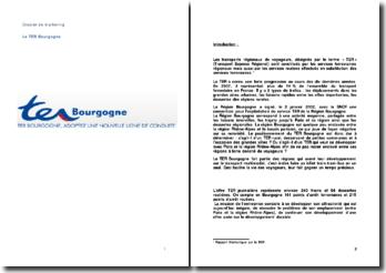 Analyse marketing du TER Bourgogne