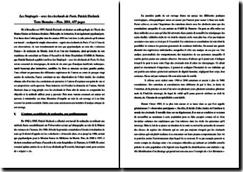 Les Naufragés - avec les clochards de Paris - Patrick Declerck