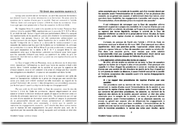 Commentaire de l'arrêt de la Cour de cassation du 23 mai 2006: les actes de la formation d'une société