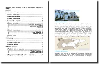 Prospection et suivi de clientèle au sein du Centre Thermal de Monção au Portugal