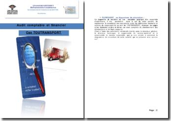 Audit comptable et financier: cas de l'entreprise Toutransport