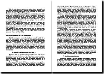 Mai 68: révolution culturelle ou révolution bourgeoise