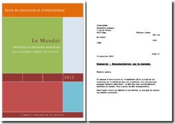 Définition et éléments essentiels sur le contrat de mandat