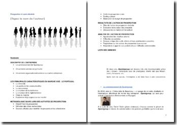 Prospection et suivi clientèle: cas de l'entreprise Dpointgroup