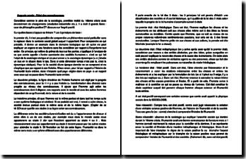 Auguste Comte : l'état des connaissances
