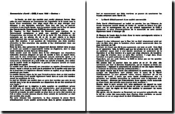 « Centros », l'hypothèse de la fraude sous la forme d'une constitution d'un siège social dans un pays étranger, commentaire d'arrêt, CJCE, 9 mars 1999