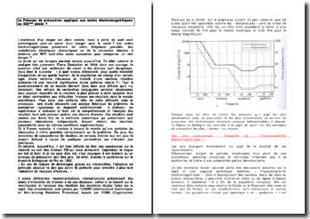 Le principe de précaution appliqué aux ondes électromagnétiques au XXIe siècle ?