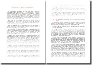Droit pénal: les éléments de l'infraction