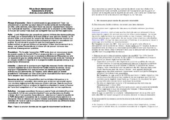 Commentaire d'arrêt rendu par le Conseil d'Etat le 8 mars 2006 : FCPE