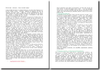 Extrait des « institutes », Gaius: le droit romain