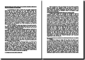 Adoption simple de l'enfant naturel d'un concubin par son partenaire, commentaire de l'arrêt rendu par la première chambre civile, Cour de cassation, 9 mars 2011