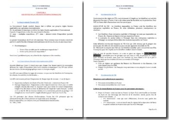 Les outils de la fiscalité internationale (FI)