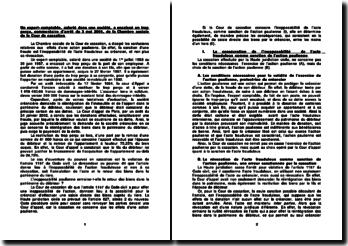 Un expert-comptable, salarié dans une société, a encaissé un trop perçu, commentaire d'arrêt du 3 mai 2006, de la Chambre sociale de la Cour de cassation