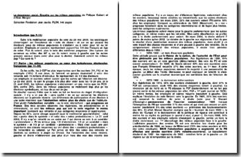 Le descenseur social, Enquête sur les milieux populaires - Philippe Guibert et Alain Mergier