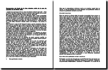 La résolution pour vil prix, commentaire d'arrêt, 1ère chambre civile de la cour de cassation, 20 février 2008.