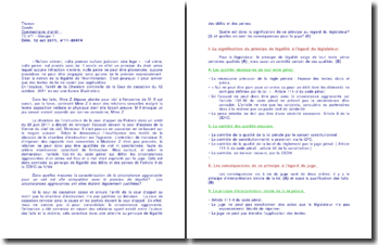 Commentaire de l'arrêt de la Chambre criminelle de la Cour de cassation du 12 octobre 2011 : la circonstance aggravante