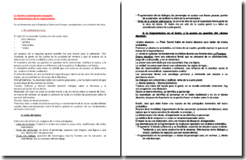 Le théâtre contemporain espagnol : les dramaturgies de la fragmentation