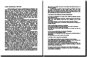 La fête révolutionnaire, 1789-1799: plan de cours