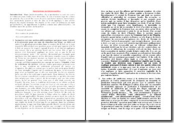 Les institutions juridictionnelles et l'organisation des institutions