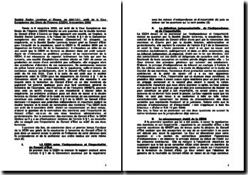 Société Sacilor Lormines c/ France, no 65411/01, arrêt de la Cour Européenne des Droits de l'Homme (CEDH), 9 novembre 2006