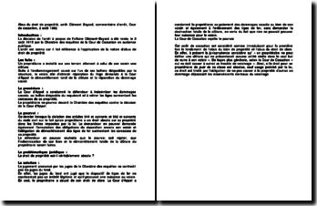 Abus Du Droit De Propriete Arret Clement Bayard Commentaire D