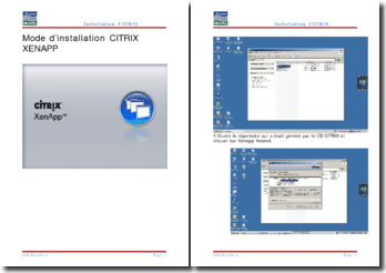 Mode d'installation Citrix Xenapp