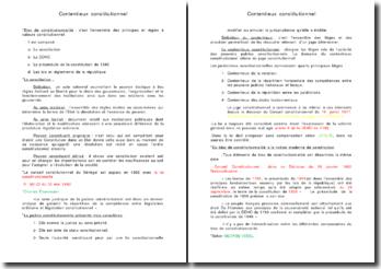Le contentieux constitutionnel au Sénégal