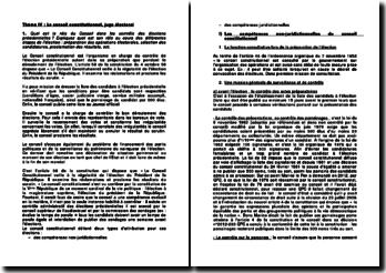 Le Conseil constitutionnel, juge électoral - mission et compétences juridictionnelles et non-juridictionnelles