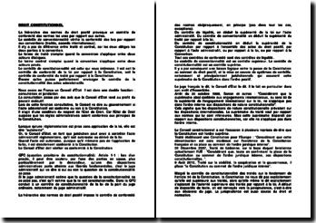 Droit constitutionnel: théorie générale de l'Etat
