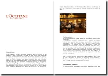 Qu'est-ce qui a fait le succès de l'Occitane en Provence ?